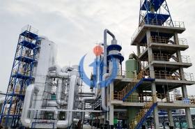 山東新啟元硫酸及酸性氣聯合處理裝置